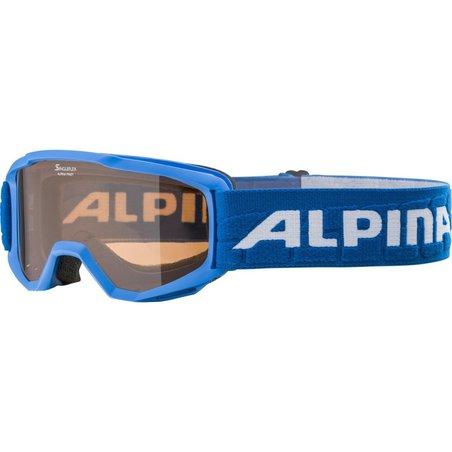 ALPINA GOGLE JUNIOR PINEY BLUE szkło SH S2